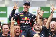 Sebastian Vettel: Red Bull driver celebrates winning the F1 championship in Brazil