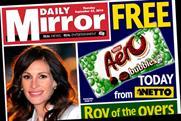 Daily Mirror: Free Aero bar