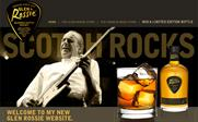 Glen Rossie: new website featuring Status Quo's Rossi