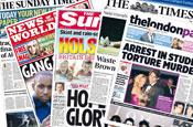News International: online lead generation test