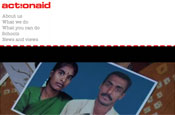 ActionAid: website relaunch