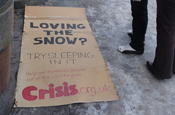 Crisis: created turnaround campaign after record UK snowfall