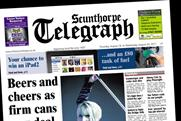 Scunthorpe Telegraph: Northcliffe Media title to switch from daily to weekly publication