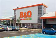 B&Q: marketing appointment follows disappointing sales