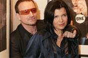 Bono and Hewson: sell stake in Edun