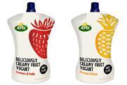 Arla's new 'squeezable' yoghurt