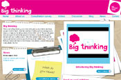 Big Thinking: launched by The Big Lottery Fund
