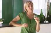 Activia: Nell McAndrew in a previous ad campaign