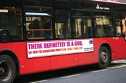 Bus ad: There definitely is a God