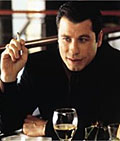 Travolta: reprising Chili Palmer role in Heineken ad