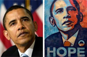 Obama: AP image used for hope poster