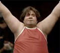 Skoda: fat gymnast centre of ad