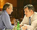 Labour: Blair and Brown chat in party political broadcast