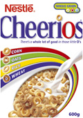 Cheerios: under fire for non-advertising marketing