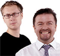 Merchant and Gervais: returning to Xfm on Saturdays