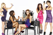 The Saturdays: stars of the latest Impulse campaign