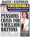 Express: cutting bulks from reported figures