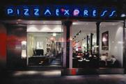 Pizza Express: Adam & Eve's appointment follows a rebrand by the chain