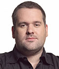 Moyles: tops the podcast chart