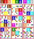 Sudoku-GUI: 'baddest' game available