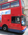 London buses: moving image ads via Viacom