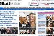 Mail Online: retains most popular newspaper website status