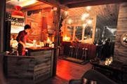 Drive Productions launches alpine lodge pop-up
