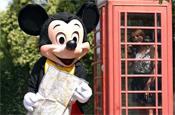 Mickey Mouse: seeks UK twin town