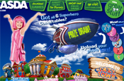 Asda: launches LazyTown site
