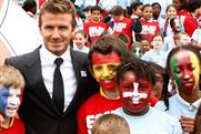 David Beckham: backs the FA's bid