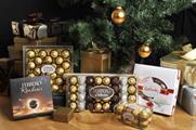 Christmas treats: Ferrero Rocher promotes its boxed chocolates