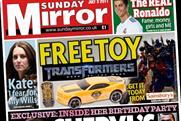 The Sunday Mirror: closes gap on Mail on Sunday