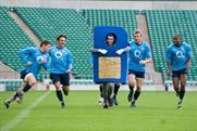 O2's Sim Rugby ad