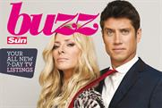 The Sun's Buzz magazine: launched in September