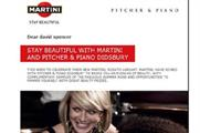 Promotional email for Martini banned by ASA