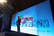 Paris Kafantaris, marketing vice-president of Western Europe, speaking at Vinopolis in January