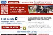 RSPCA website