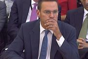 James Murdoch: at the Select Committee on Tuesday