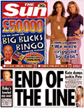 The Sun: losing readers