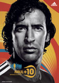 Adidas: Spain's Raul features on posters
