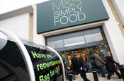 Marks and Spencer: mulls online food store