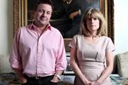 The Lady: owner Ben Budworth and editor Rachel Johnson