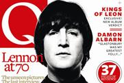 Q: John Lennon features on commemorative issue cover