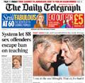 Telegraph: sports text service