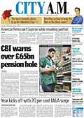 City AM: readers eschew other papers