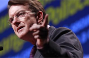 Mandelson: calls on Tories to support Ofcom