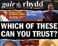 Gair Rhydd: copies recalled