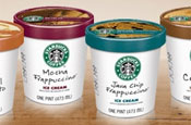 Starbucks: ice-cream giveaway on Facebook