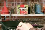 Yorkshire Tea advert featuring John Shuttleworth