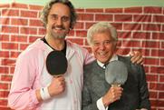 Karmarama's Dave Buonaguidi with Lionel Blair